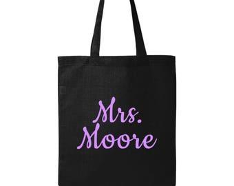 Personalized Teacher Gifts - Teacher Bag