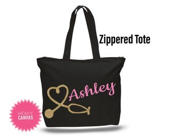 Nurse Christmas Gift, Personalized Nurse Gift, Nursing Student Gift, Stethoscope Bag, Gifts for Nurses, CNA Gift, Medical Student Gift
