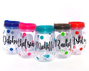 Group Gifts, Employee appreciation gifts, group tumblers, group friend gifts, party cups, vacation tumblers, club gifts