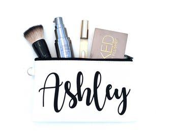 Makeup Bag, Makeup Brush Holder, Makeup Organizer, Makeup Case, Cosmetic Organizer, Makeup Artist Gift, Cosmetic Pouch