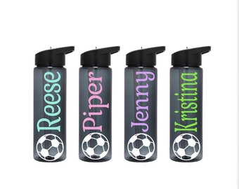 Soccer Gifts Water Bottles Personalized Soccer Team Gifts Soccer Team Water Bottles Soccer Gifts Team Gifts Sport Water Bottles