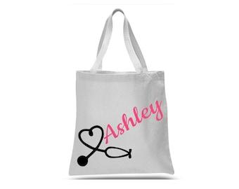 Nurse Gifts - Nursing Student Gift - Nurse Bag - Nurse Tote Bag - Personalized Nurse Gift - Nurse Christmas Gift
