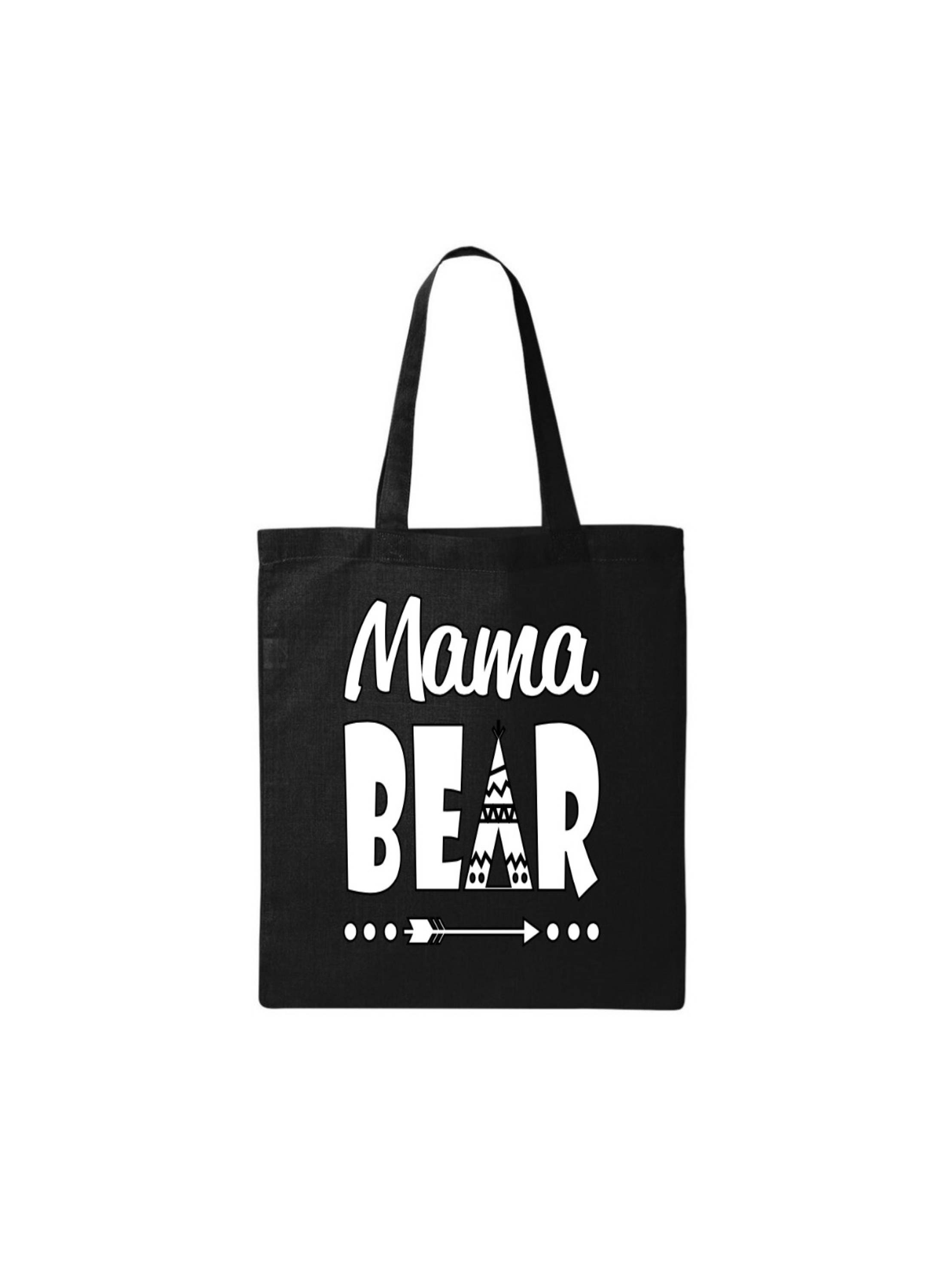 Mom Bag Mom Gift Mom Tote Bag Mama Bear Bag Christmas Gifts for Moms ...