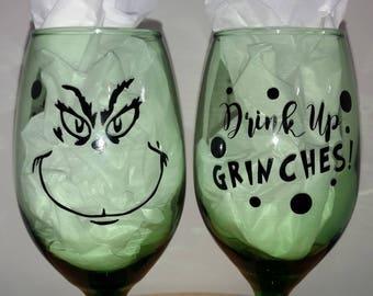 GRINCH GLASS