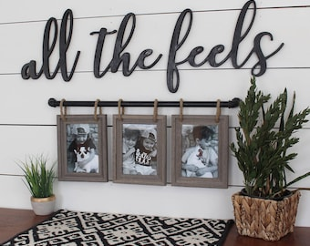 All The Feels Cut Out, All The Feels, Funny Saying, Cute Home Decor, Cute  Words, Trendy Wood, Wood Letters