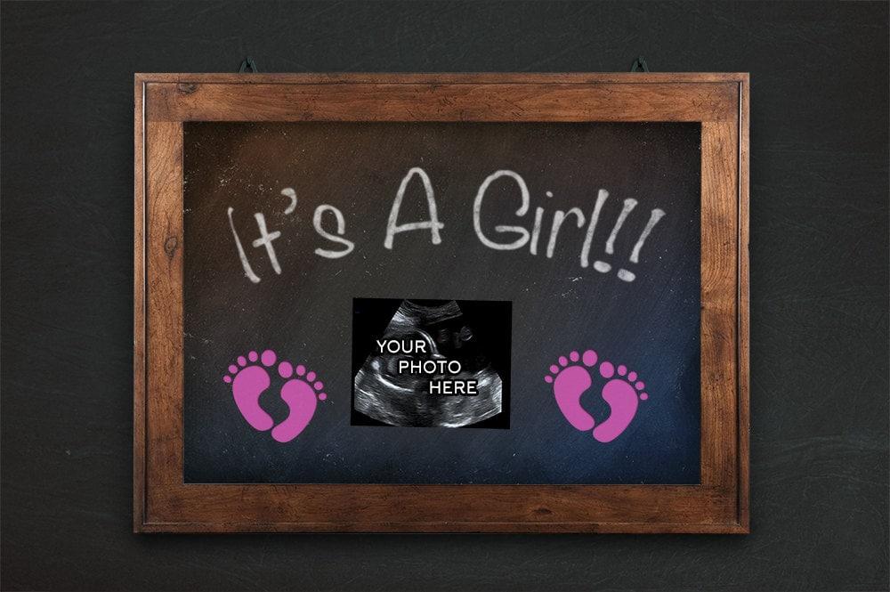 Geschlecht offenbaren Schwangerschaft Ankündigung ist es ein | Etsy