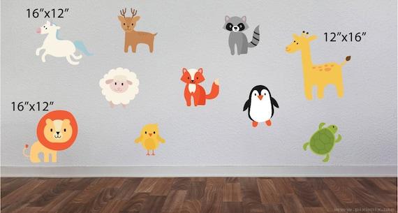 Zoo Tiere Schlafzimmer Satz Zoo Tiere Aufkleber Kinder