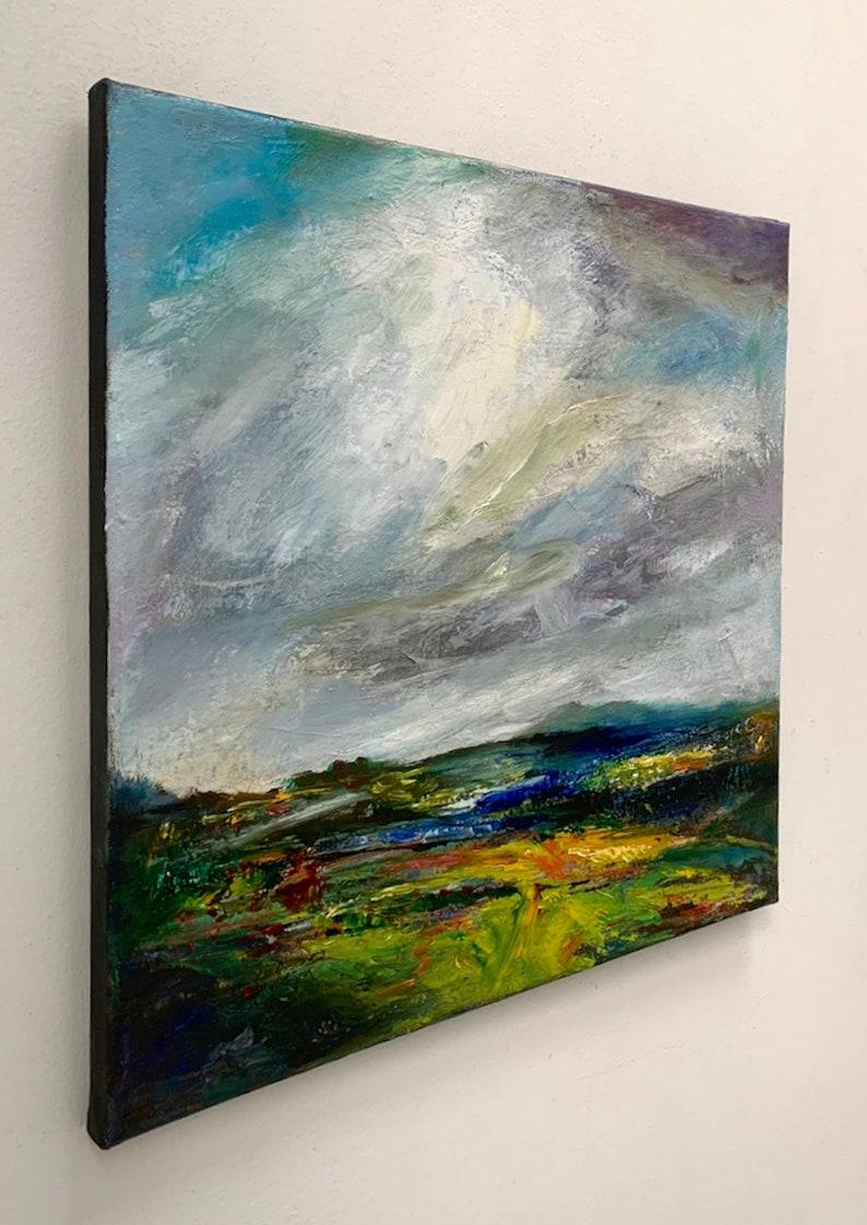original landscape painting abstract landcscape landscape painting