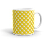 Mug with golden hearts