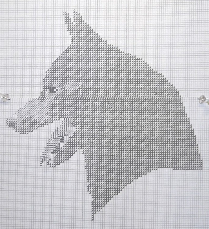 Schipperke Dog Pattern