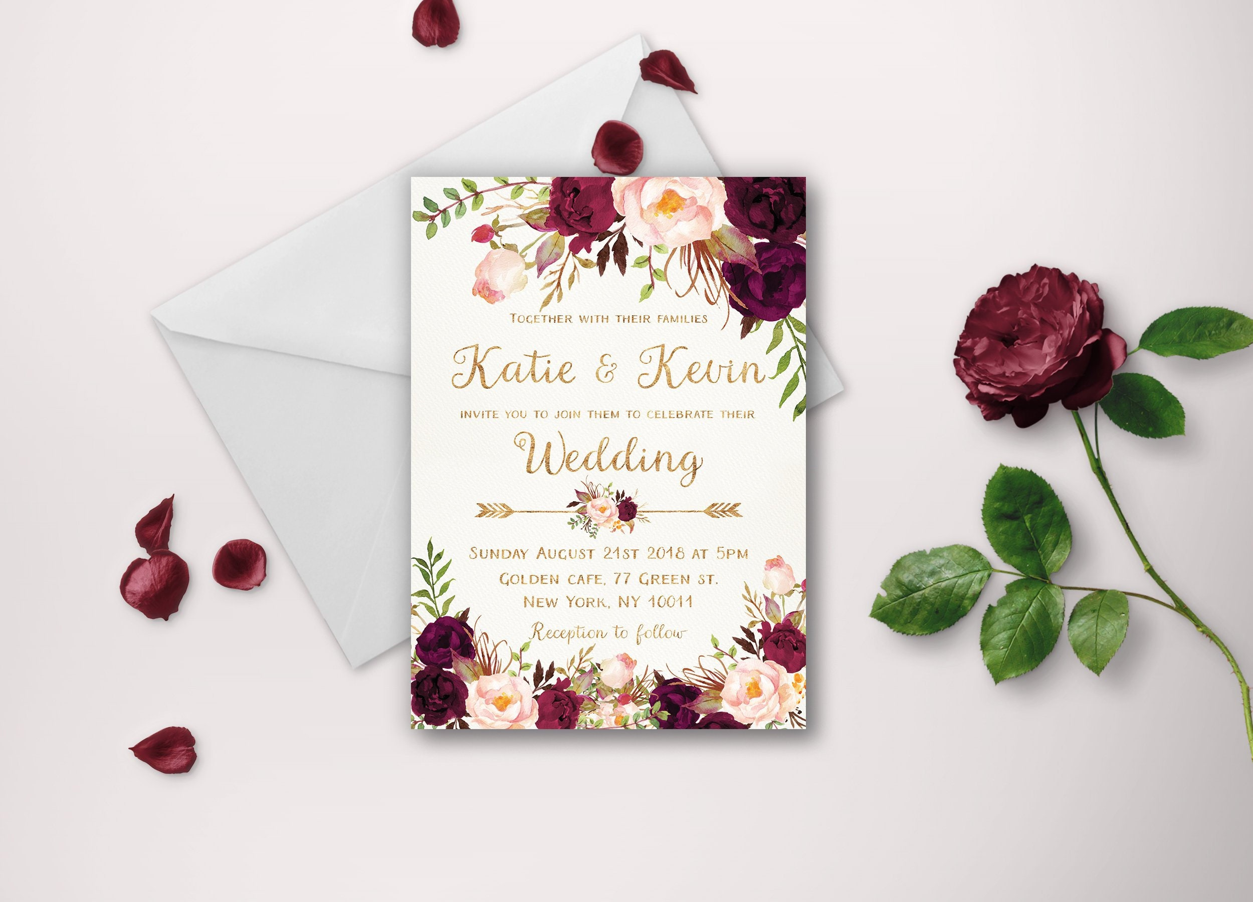 Monster image pertaining to etsy printable wedding invitations