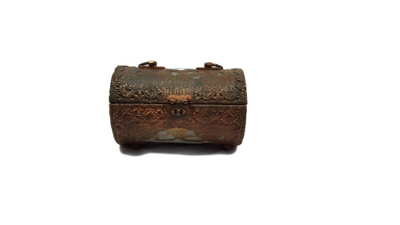 Vintage Purse Walborg Vintage Evening Bag Copper P