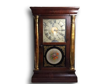 Antique Clock Mantle Clock Antique Mantle Clock - E.N. Welch Mantle Clock E.N. Welch Clock