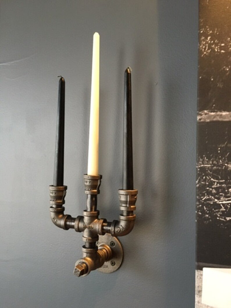 Candelabra Wall Sconce Triple Candle
