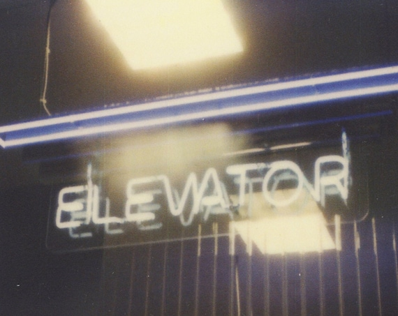 Polaroid Print: Elevator
