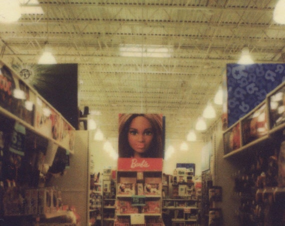 Polaroid Print: Barbie Aisle