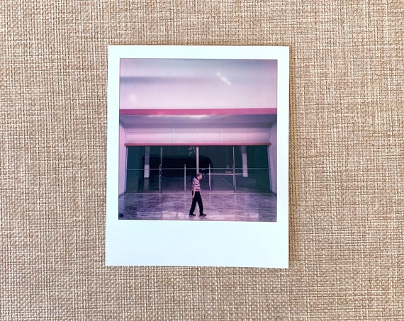 signed Polaroid original by Dan Bell from a series of 3