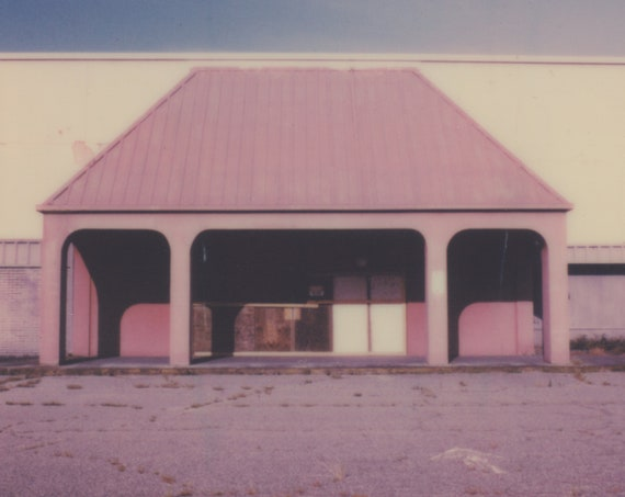 Abandoned Mall in Mississippi Polaroid