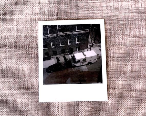 original signed Polaroid by Dan Bell #31