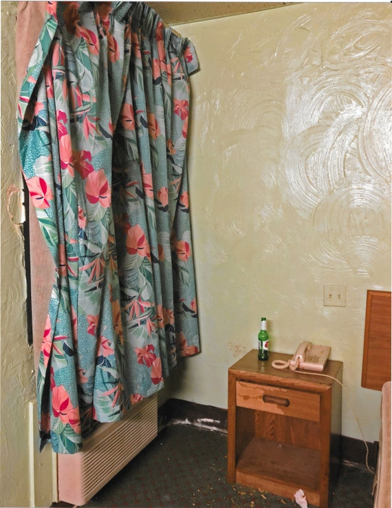 "8.5"" x 11""  - Lancer Motel Interior"