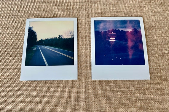 original diptych signed Polaroid by Dan Bell - from series of 3