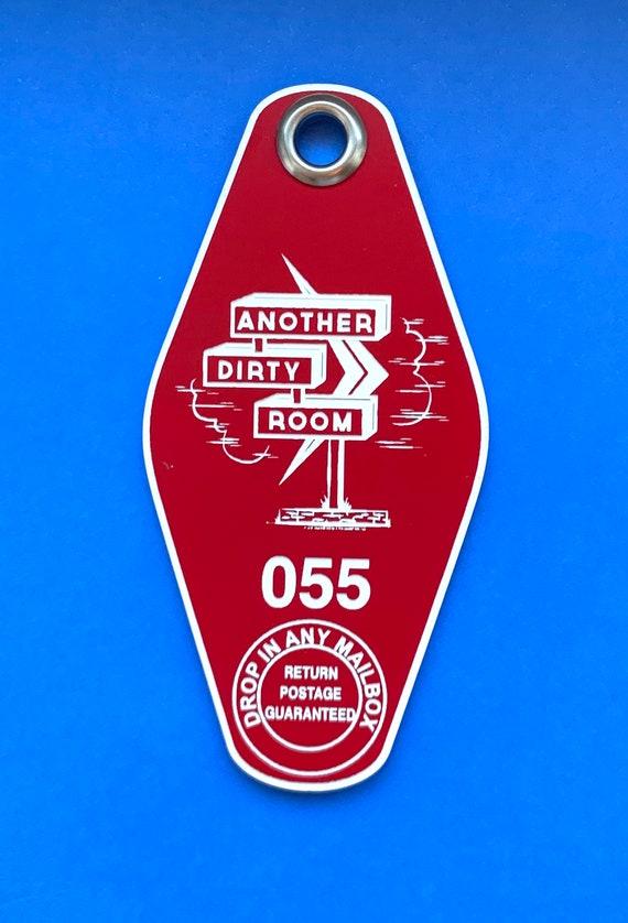 ADR keychain - Lipstick Red