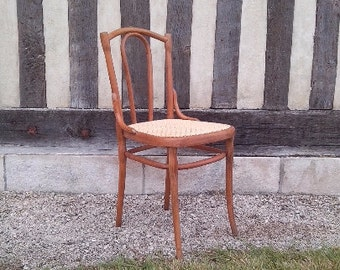 DISCOUNT 2 THONET N56 bistro chairs redone