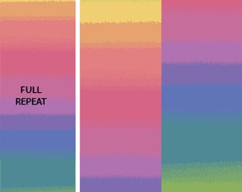 Essential Gradations - 2046-72 - Rainbow Spectrum Pastel - by Caryl Bryer Fallert for Benartex