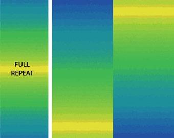 Essential Gradations - 2046-53 - Rainbow Spectrum Lapis Sunshine - by Caryl Bryer Fallert for Benartex