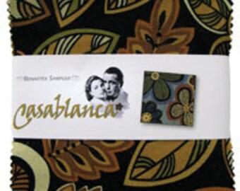 "Casa Blanca by Benartex - (42) 5"" x 5"" Charm Pack"