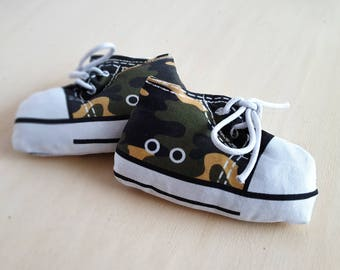 Sneaker Catnip Toy, Cat Toys, Camouflage, Cat Gift, Cat Lover Gift, Catnip, Stuffed Cat Toy, Unique Cat Toy, Catnip Cat Toys, Cat Mom Gift