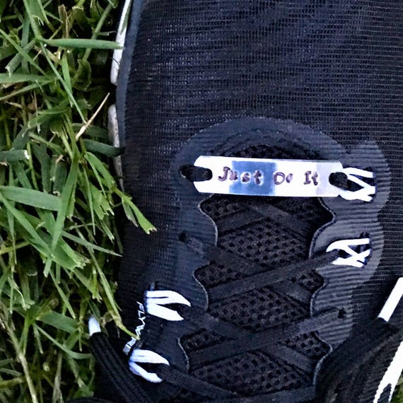 Customized Shoe Tags, Personalized Shoe Lace Charms, Runner Walker Motivational Word Charms, Team Swag Party Gifts, Fitness CrossFit Jewelry