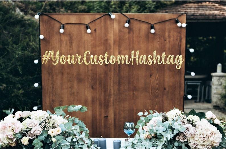 Personalized Banner Graduation Banner Your Custom Hashtag Bridal Shower Banner Your Custom Text Banner Wedding Banner! Birthday Banner