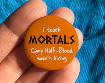 Camp Half-Blood pin badge