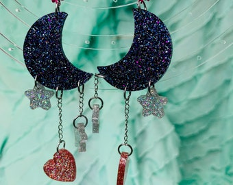 For the Love of the Moon Earrings