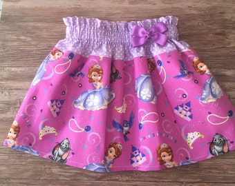 Sofia the First Skirt, Sofia Skirt, Princess Sofia Skirt