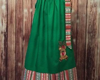 Christmas Pillowcase Dress, Christmas Dress, Pillowcase Style Dress for Christmas , Pillowcase Dress for Christmas