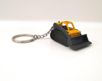 Forklift Keychain Lift Truck Fork Truckllavero Keychain Etsy