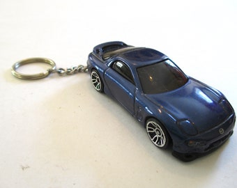 Mazda FB RX7 Acrylic Key Chain Laser Etched Cut Acrylic First Gen