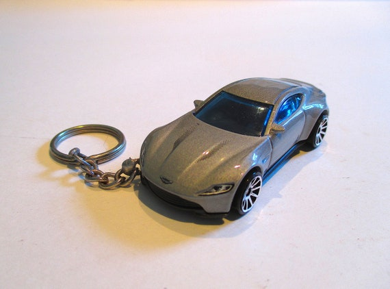 Aston Martin Db10 Keychain James Bond 007 Spectre Car Etsy