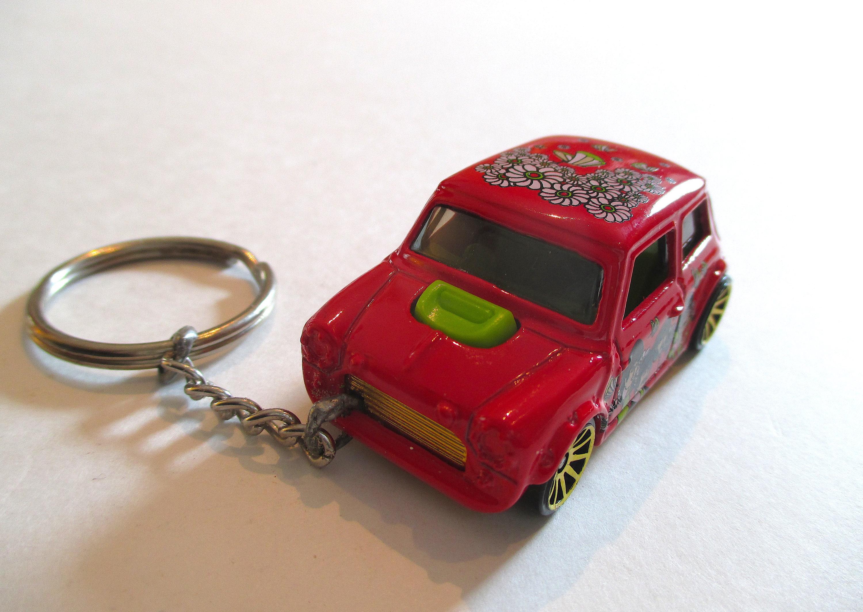 Cute keychain Beatles Series Mens   gift BAE gift Boyfriend   keychain Mini Cooper Keychain Car keychain