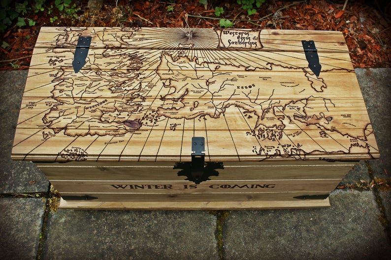 Game of Thrones Map Table Westeros Essos Sotheryos Map A Song image 0
