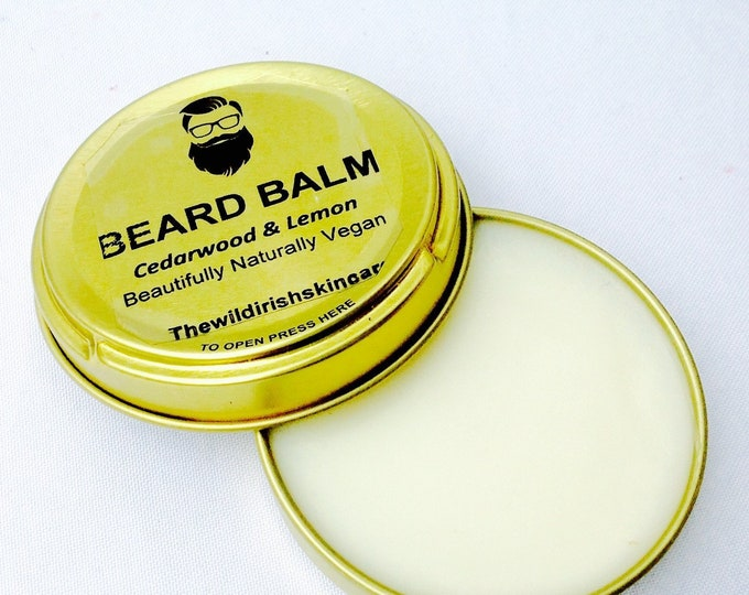 Wild Irish BEARD BALM. Vegan. Pure Essential Oils . 100% Natural.