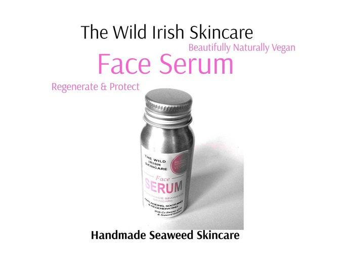 Anti aging Serum . Sea Kelp Regeneration. Sensitive/Oily/Mature. High Performance Oils. Natural Ingredients. Preservative Free.