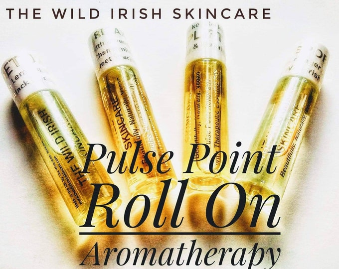 Pulse Point Roll On X 1  Natural Perfume with Therapeutic Essential Oils