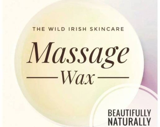 Chocolate Massage Wax Skin Contour Anti Cellulite Caffeine with Seaweed Infused Oils. Natural /Organic Ingredients. Preservative Free.