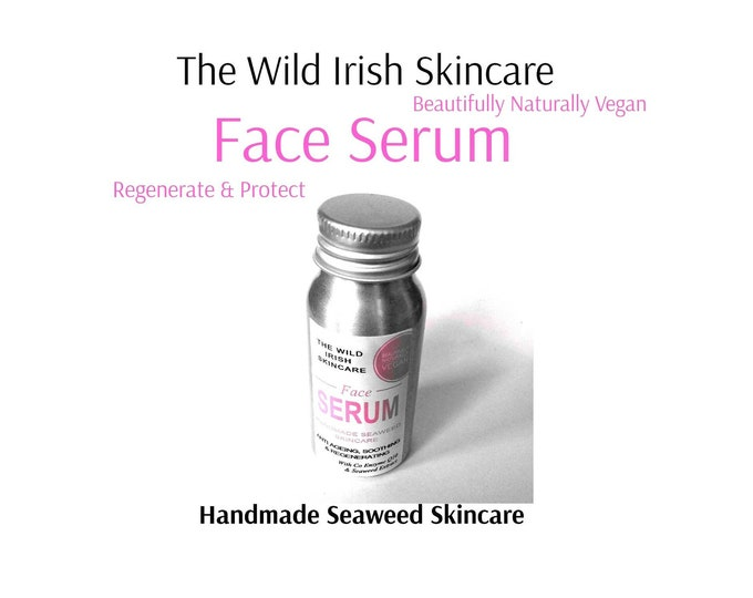 FACE Oil Serum . Sea Kelp Regeneration. Sensitive/Oily/Mature. High Performance Oils. Natural Ingredients. Preservative Free.