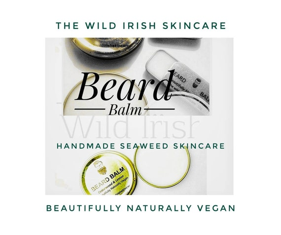 Wild Irish BEARD BALM. Vegan. Pure Essential Oils . 100% Natural.