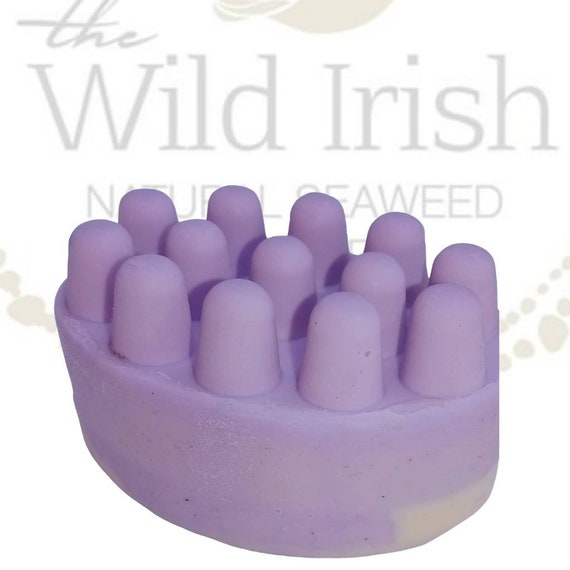Vegan & Palm Free Soap Bar. Jasmine Seaweed. 100% Natural. Naturally Antibacterial. Cold Process.