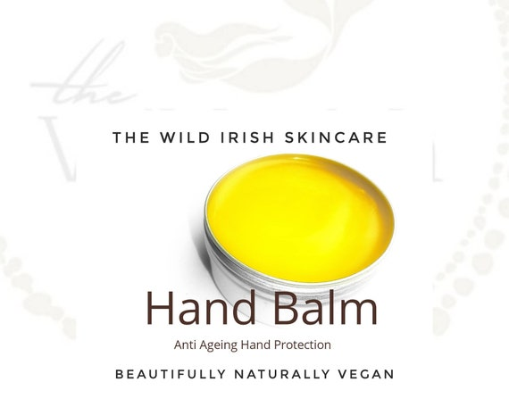 Gift Set.Soothing & protective HAND BALM. Vegan/Nut Free. With Anti Ageing Co Enzyme Q10,  Rosehip, Calendula C02 extract.